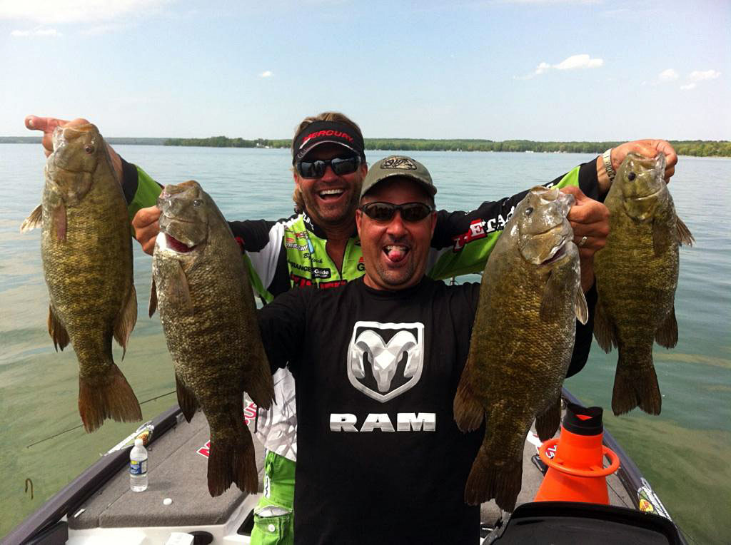 Great lakes bass fishing forum mark zona and byron for Zona s awesome fishing show