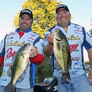 Reigning NABC World Bass Champions Buckley Smith and John Roundsley