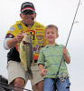 During the 2007 Fishing with the Pro's event, which raises money for under-privileged children, Thomas operated the Hawg Tank. Thomas prompted several children to participate and catch fish from the tank.