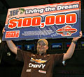 Boater Allen Boyd's 2011 TBF national championship victory gives him the $100,000 Living the Dream package