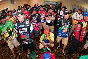 Bassmaster Elite Series St. Johns River 2011 anglers briefing