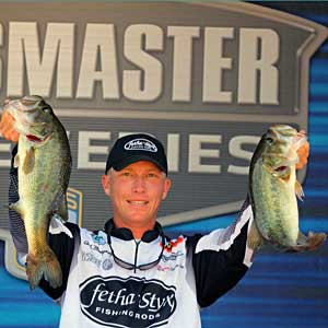 Rookie Bassmaster Elite angler Andy Montgomery is second in Rookie of the Year points behind his roomate and travel partner Ott DeFoe