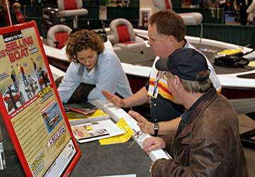 Great boat deals available at the 2011 Novi Ultimate Fishing Show Detroit January 13-16 from many area dealers