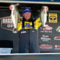 Florida Elite angler Bobby Lane leads day one at the B.A.S.S. Southern Open event on Lake Norman with 18 pounds, 13 ounces