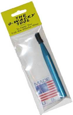 Case Plastics o-wacky tool for wacky rigging bass lures