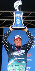 Chris Lane gets his 2014 Bassmaster Classic spot courtesy of his August 22-25, 2013 Elite Series Plano Championship Chase victory on Lake St Clair