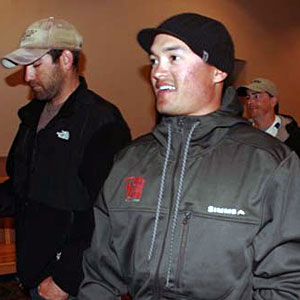 Chris Zaldain totaled up 804 points over the three 2011 Bassmaster Central Opens to finish in the first spot into the 2012 Elite Series
