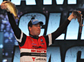 Cliff Pace, 2013 Bassmaster Classic, Day 3 Weigh-In with 2 of his winning bass from Grand Lake Oklahoma February 24