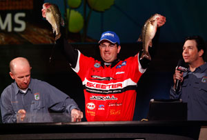 Professional angler Cliff Pace is one of the local favorites for the 2011 Bassmaster Classic on the Louisiana Delta