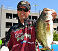 FLW Tour Lake Chickamauga champion Clifford Pirch with his final day kicker fish