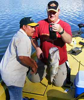The guides at Lake Comedero will put you on giant Florida bass in the thorn trees