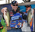 Kellogg's Frosted Flakes pro Dave Lefebre leads day one at the Beaver Lake FLW Tour event