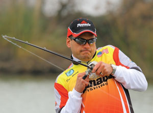 Pro angler Dave Wolak joins the Pinnacle Fishing pro bass team for 2010