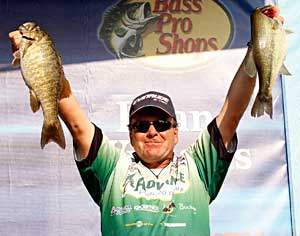 Davy Hite wins his 8th Bassmaster title by more than 8 pounds on Pickwick Lake at the Elite Series Alabama Charge
