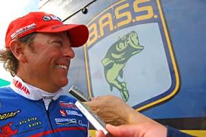 TroKar Battle leader Dean Rojas talks about his day one success on Toledo Bend Reservoir