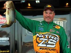 Roanoke Louisiana Elite pro Dennis Tietje lives near the heart of the delta fishery