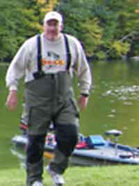 DK Open Fall 2008 Hardy Dam Pond October 4th suspect in the Ranger Boat floats free mystery