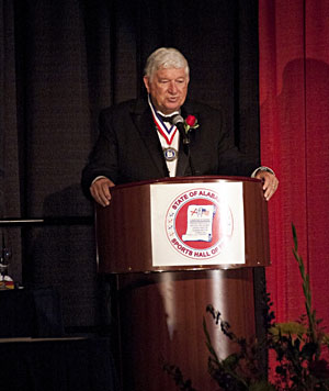 B.A.S.S. owner Don Logan was named the Distinguished American Sportsman for 2011 by the Alabama Sports Hall of Fame