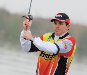 Pro angler Grant Goldbeck joins the 2010 Pinnacle Fishing pro fishing team