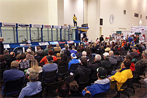 The popular living seminar stage the Hawg Trough returns to the 2017 Ultimate Sport Show Grand Rapids DeVos Place March 16-19