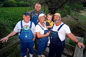 History Channel's Swamp People stars the Kliebert Family will appear at the 2011 Bassmaster Classic in New Orleans