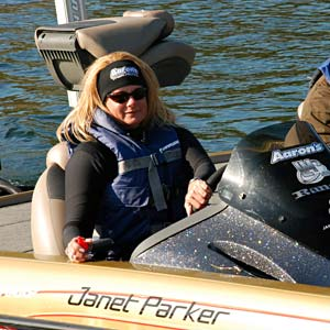 Janet Parker fell out of contention for being the first women to qualify for the Bassmaster Elite Series after finishing 100th at Table Rock Lake