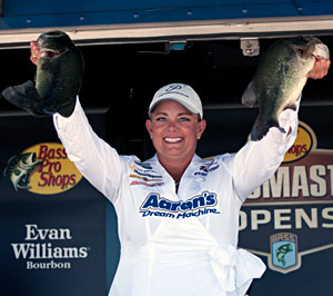Janet Parker has a rock solid chance to be the first woman to qualify for the Bassmaster Elite Series