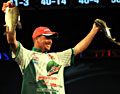 Diet Mountain Dew pro Jason Christie led wire-to-wire with bass like these to win FLW Tour Lake Hartwell