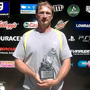 John Detweiler of Harleysville, Pa., was the highest-placing co-angler at the July 9 BFL Northeast Division event