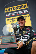 The Kalamazoo Kid Kevin VanDam seals the deal on his 7th Bassmaster Angler of the Year award and his 4th in a row