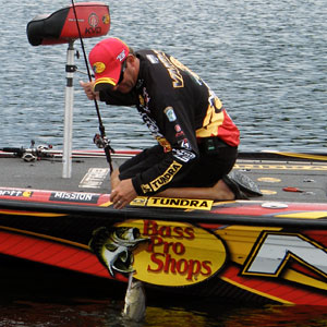 Kevin VanDam's extreme bass fishing versatility and consistency has him in the hunt for his 8th Angler of the Year title if he gets a little help on Lake St. Clair this week