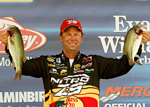 Kevin VanDam took 2nd place at the Wheeler Lake Pride of Georgia Bassmaster Elite Series event