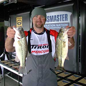 Tennessee's Mark Pierce wins the B.A.S.S. Federation Nation Southern Divisional on Barren River Lake
