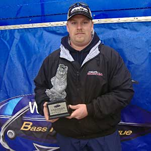 Michael Swift caught four bass weighing 15 pounds, 15 ounces March 26 to win the LBL Co-angler Division