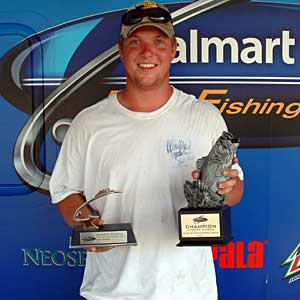 Nick Daniels of Columbus, Ohio, was the winning co-angler in the July 23 BFL Buckeye Division tournament, winning $1,689