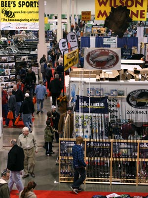 Dealers and area retailers will have the latest in fishing boats and tackle at Outdoorama.
