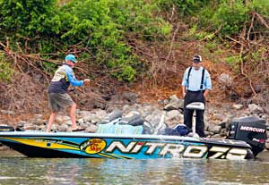 Four time Bassmaster Classic champ Rick Clunn is scheduled to be at the Trokar Hooks booth at the Outdoors Expo