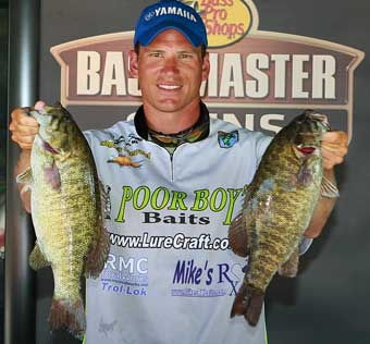 Michigan pro angler Ryan Said held on to the BASS Northern Opens points lead at Chesapeake Bay to qualify for his first Bassmaster Classic
