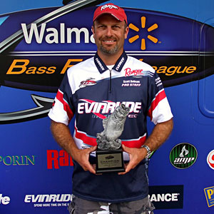 Boater Scott Dobson of Clarkston, Mich., won the June 25 BFL Michigan Division tournament on the St. Clair River to earn $6,514