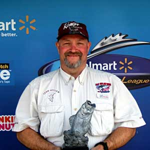 Scott Payne of Ingraham, Ill., was the highest-placing co-angler at the April 30 BFL Illini Division event