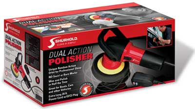 Shurhold.com Dual Action Polisher makes anyone a professional boat care specialist thanks to its random orbit action
