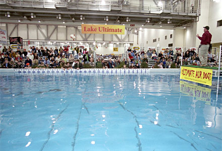 Lake Ultimate is the largest indoor seminar lake in America - hundreds can watch on-the-water seminars throughout the 2014 Ultimate Sport Show Grand Rapids March 20 - 23 at DeVos Place