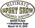 The 74th Ultimate Sport Show Grand Rapids runs March 14 through March 17, 2019 at DeVos Place downtown