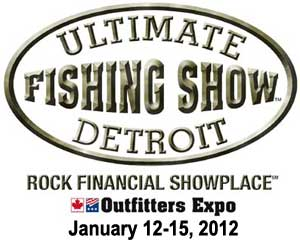 The 2012 Ultimate Fishing Show Detroit features an excellent ice fishing show with tackle, gear, seminars and a live weigh in