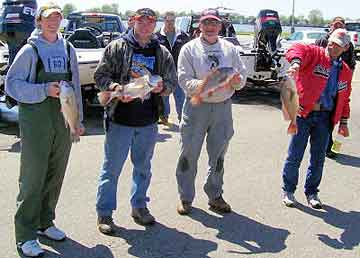 The coveted DK Open other 'junk' fish award is fiercely fought here with a bunch of St Clair sheephead