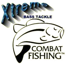 Combat Fishing combat-bassfishing.com Xtreme Bass Tackle Custom made and designed bass tackle