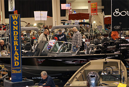 Fishing and hunting seminars along with boats and fishing gear highlight the 43rd annual 2016 Outdoorama