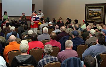 Over 75 free seminars at the 2011 Ultimate Fishing Show including Kevin VanDam. Also limited fee-based Super Walleye and Salmon Clinics.